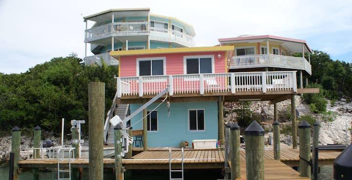 Serenity Dock House, Staniel Cay, Exumas, Bahamas