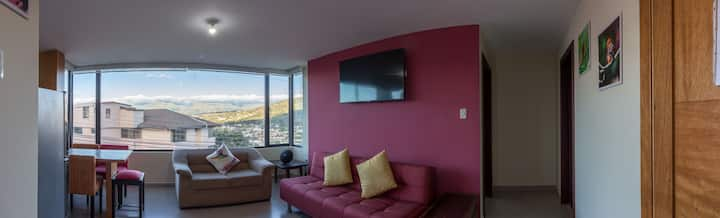 TWO bed 2bath comfy new apart. Cumbaya-Quito.