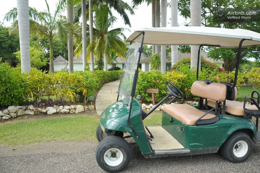 Private golf cart for Seafore