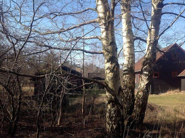 Vintage sommerhus 300m fra vandet - Fårevejle - Cabin
