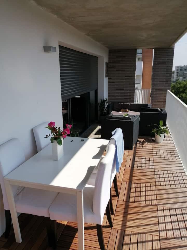 Location appartement à Toulouse beauzelle