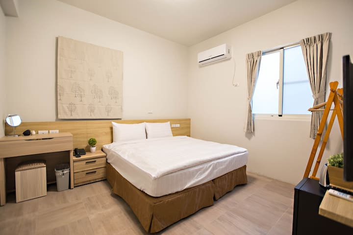 Double Room‧Taitung City center.Near night market