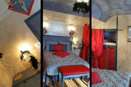 Spa, piscine❤Baroque Lila des bois - Nointel - Maison