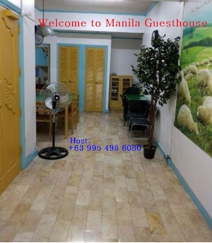 1. Manila Guest House ☞ Room - 1