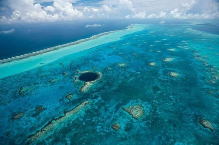 Private Belize Island Studio (Sky Level 17): Easy Boat Ride to Blue Hole: We organize it all for you - Belize City - Flat