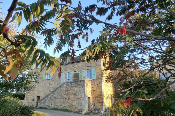 maison du causse au calme  avec vue sur la nature - Pierrefiche - Hus