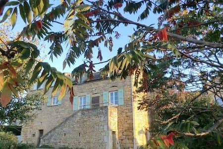 maison du causse au calme  avec vue sur la nature - Pierrefiche