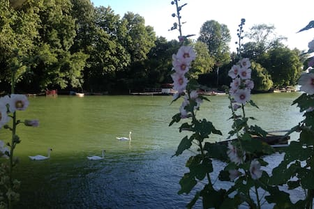 Cosy flat in bucolic town 30 minutes to Paris - Nogent-sur-Marne