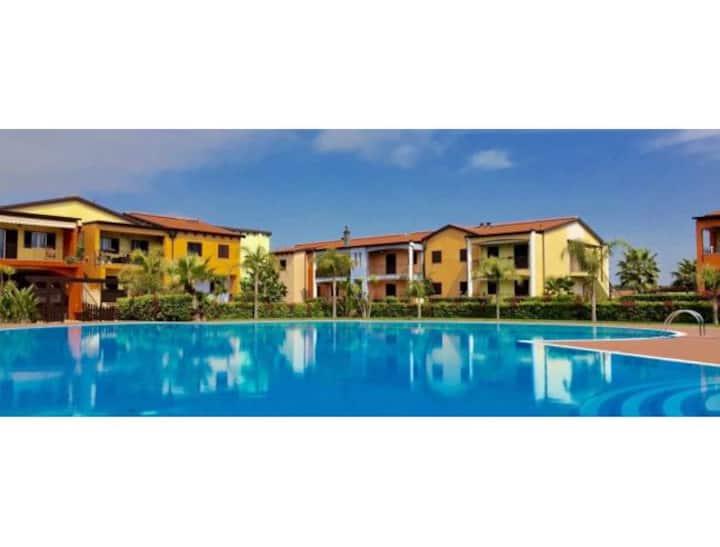 Splendido appartamento Villaggio RivaAzzurra(wifi)