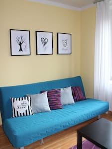 Cozy apartment 5 min to city center by metro - Praha