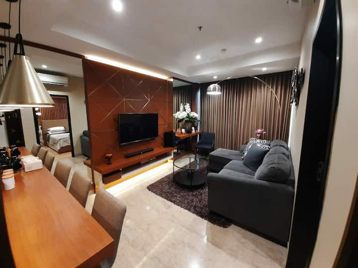 Luxury One Bedroom Apartment at BRANZ BSD