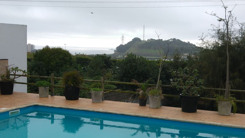Sea View and Swimming-pool House - Sao Roque - Hus
