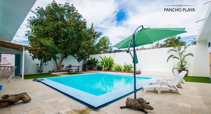 Suite Familiar Baño exterior con Alberca/Desayuno