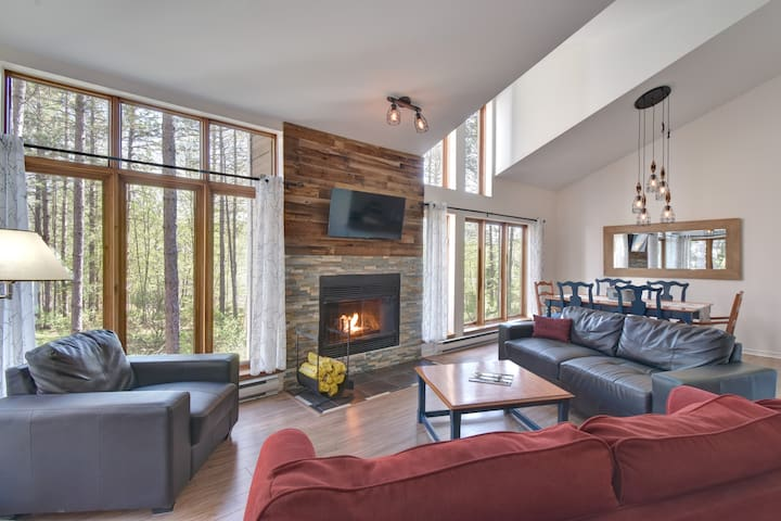 Mont Tremblant getaway with A/C
