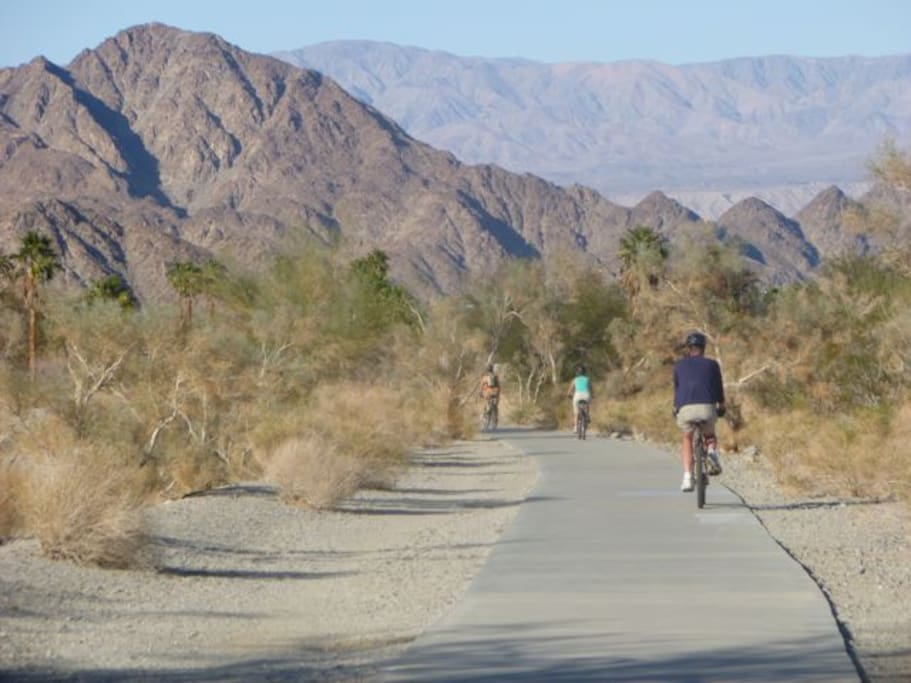Hiking & Biking trails surround us! Bring your bikes!