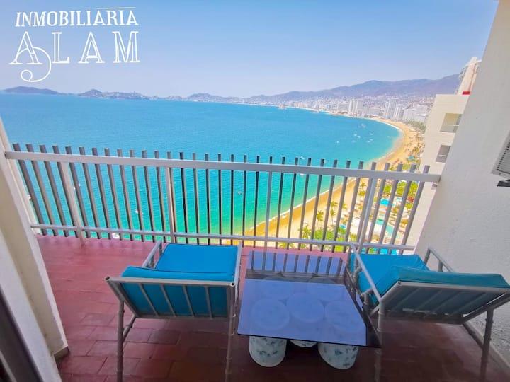 Magnífica suite en Costera c/acceso a playa, 20.