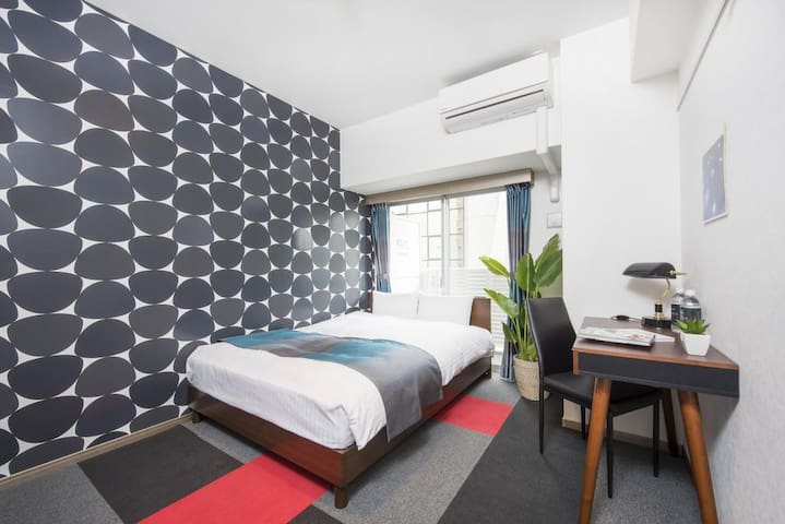 【Executive Room】 7 minutes walk from Hakata Station, convenient place for sightseeing base