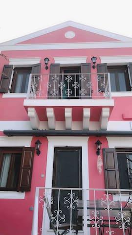 Home Facade with 1st floor Balcony