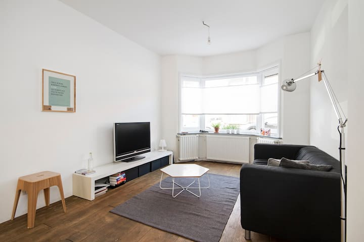 Cosy old apartment with garden + WiFi - Utrecht - Flat