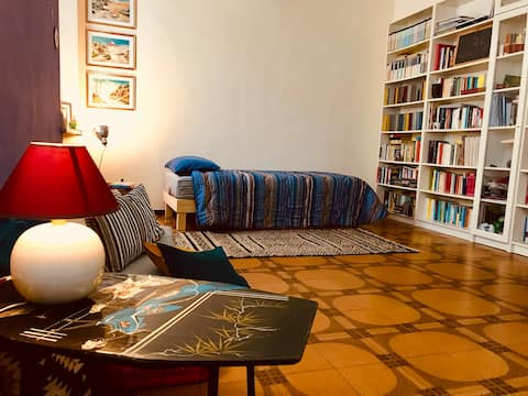 Relax tra i libri! Cozy room in city center