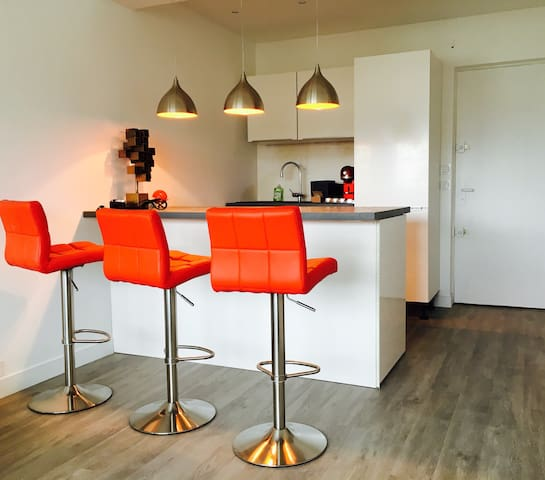 Stylish Cannes apartment, off Croisette, sleeps 5 - Cannes - Appartement