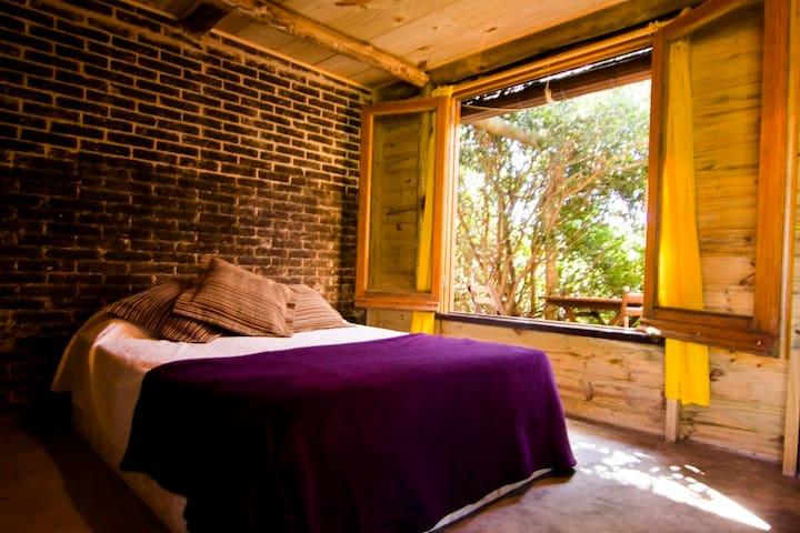 El Escondite. Habitación doble con baño privado. - Punta Negra - Inap sarapan