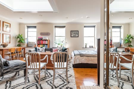 Top Floor Sun-Drenched West Village Studio