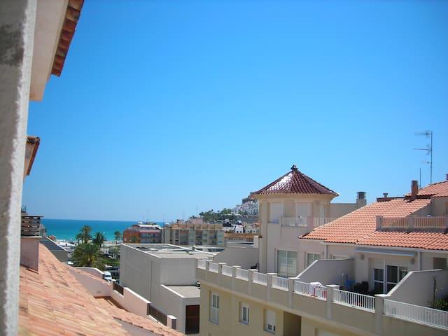 Apartamento a 300 metros de la playa y centro. - Peníscola - Appartement