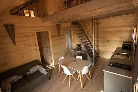Envie d'une escapade dans une Cabane de caractére