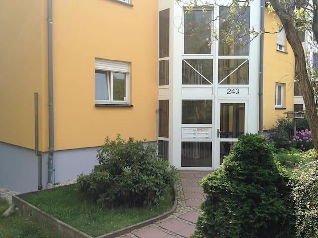 Neu - Appartement  ganze Wohnung  Stadtnah im Grün