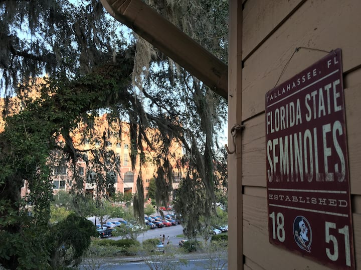 FSU Doak Stadium view, renovated condo