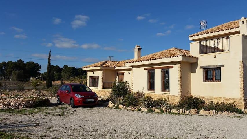 Villa in Aspe Alicante