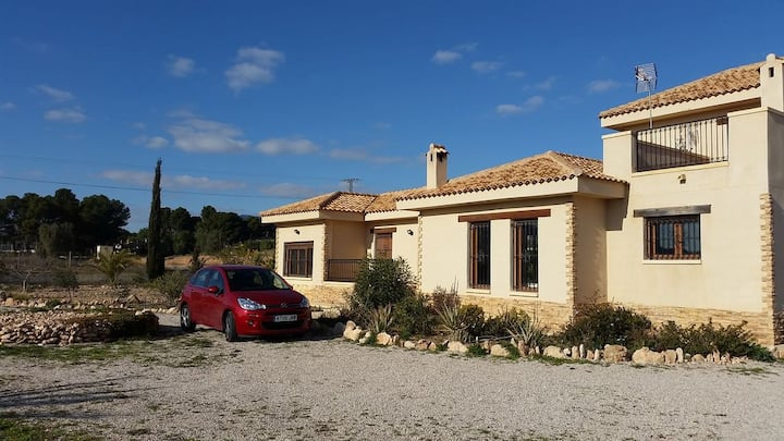 Villa in Aspe Alicante