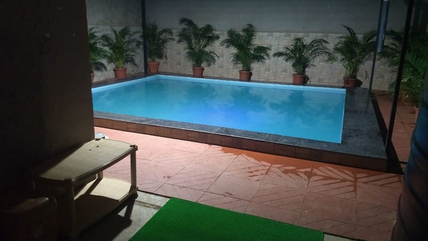 Kings Empire/3bhk/Ac/Private pool/ideal for party/