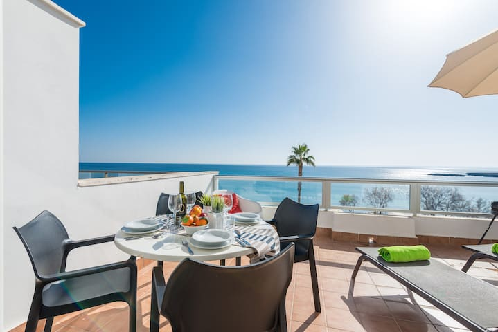 ROSA DELS VENTS 2B - Apartment with sea views in S'Illot. Free WiFi