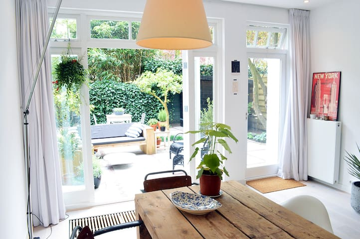 Design 4p app w big sunny garden - Amsterdam - Apartment