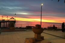 Brighton Jetty at Sunset