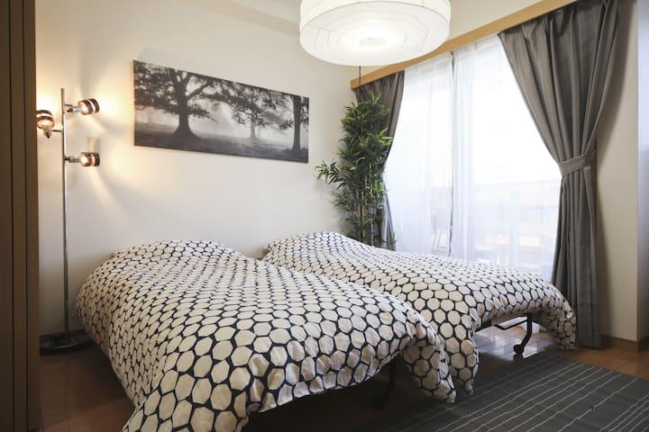 Great Spacious Aptmt in ASAKUSA - Taitō-ku - Apartemen