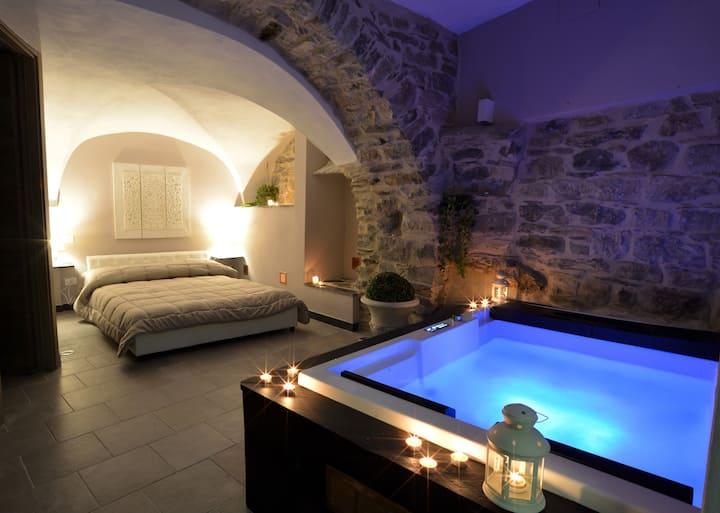 Cottage con Jacuzzi Privata