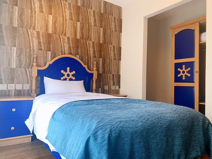 海坨山谷瑞岚酒店3人间两居室含早餐