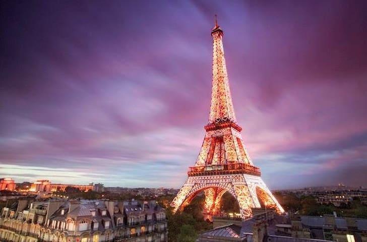 Lovelyflat: Paris Expo/Eiffel Tower