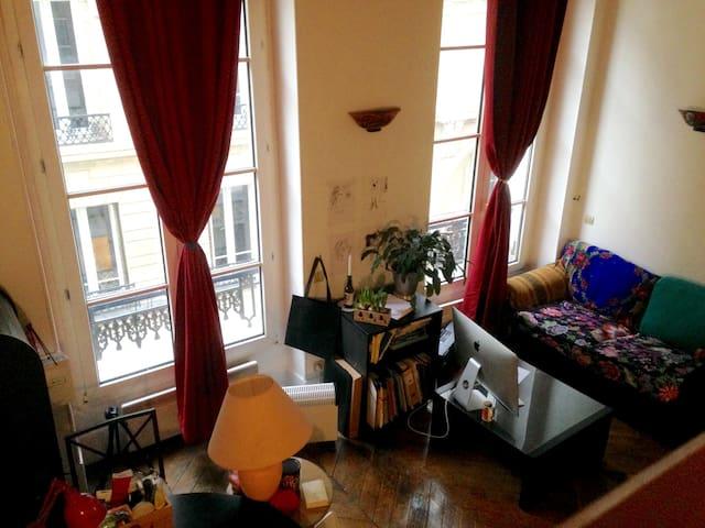 Un nid douillet au centre de Paris