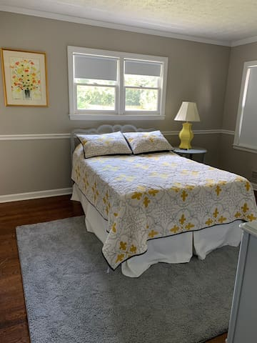 Comfy room with private bathroom