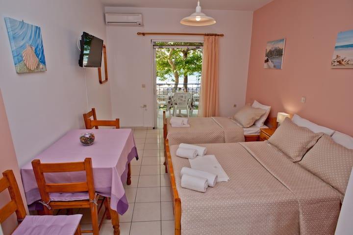 Erodios#4 comfort seafront studio apartment