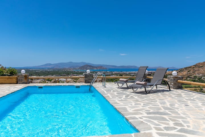 Alkyoni, Stunning Aegean View,Private pool and BBQ