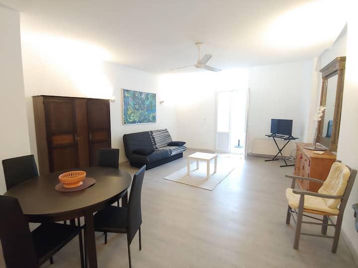 L'appartement Tournesol de la rue des Arènes4p+1bb