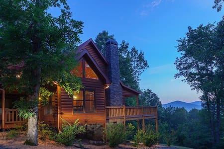 Blue Horizon Lodge - Mineral Bluff - Hytte