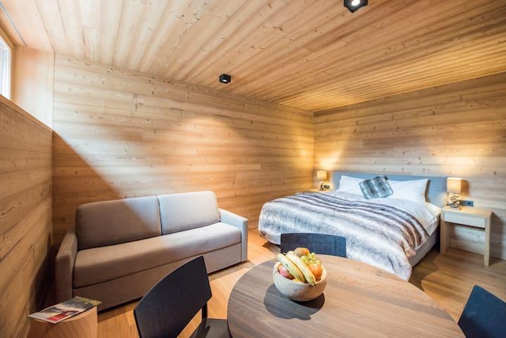 New Wooden Alpine Studio Deluxe - stunning!