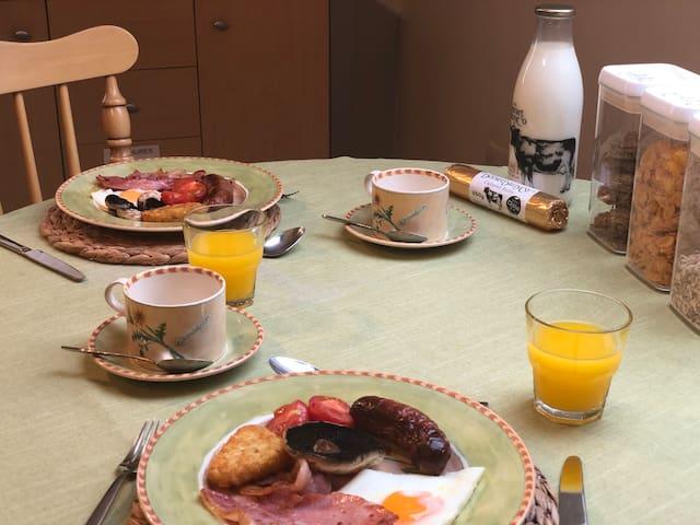 Breakfast Table in the Studio