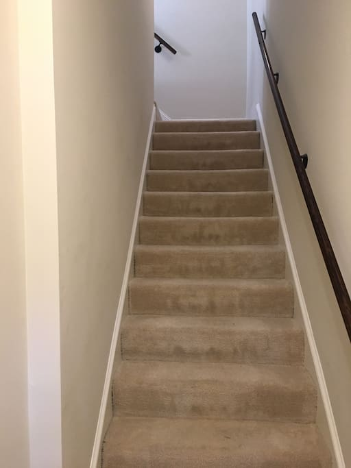 Flight of stairs to your room